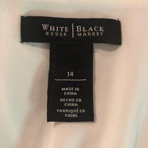 White House Black Market Tops - Layered Tunic Blouse